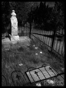 Doc Holliday's 'Grave,' Linwood Cemetery, Glenwood Springs, Colorado