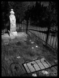 Doc Holliday's 'Grave,' Linwood Cemetery, Glenwood Springs, Colorado